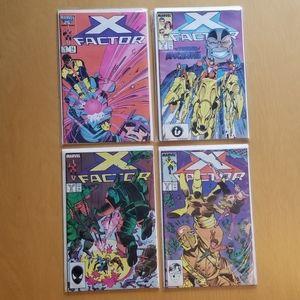 Marvel Comics (Lot of 4) X Factor *